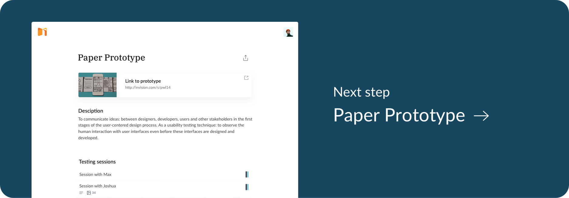 Go to the next Article - Paper Prototype