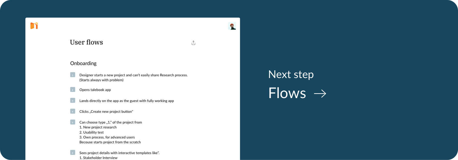 Go to the next Article - Flows