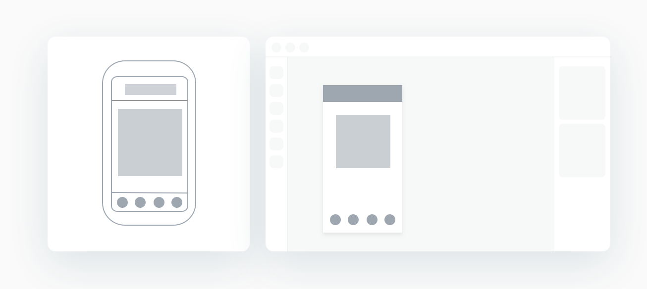 Moving your screen to more detailed interactive template