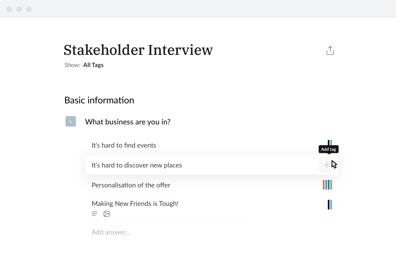 Stakeholder Interview image